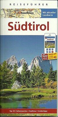 Sudtirol Meran Vinschgau Dolomiten Reisefuhrer M Landkarte 2017