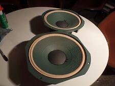 Pristine pair vintage JBL LE14A Heathkit 401 134   speaker