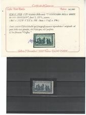 1926 San Francesco 1,25 L. dent. 13 1/2 MNH certificato Caffaz ++++
