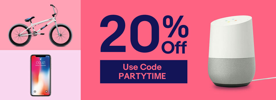 Use Code PARTYTIME - Save 20% This Gifting Season