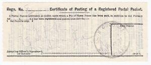 1927-SHOW-GROUND-SEVENOAKS-KENT-SKELETON-POSTMARK-ON-REGISTERED-RECEIPT-16th-JUL