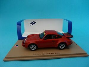 PORSCHE-911-953-JACKY-ICKX-TEST-CAR-RALLY-DAKAR-1984-1-43-NEW-SPARK-SF071