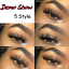 3D-Mink-Eyelashes-5-Pairs-Natural-Long-Thick-Wispy-Fluffy-Handmade-Lashes-Makeup thumbnail 4
