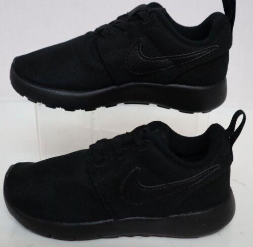 Nike Roshe One TDV Black//Black-Black 749430-031 Infant Size/'s