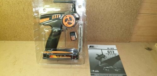 hpi//traxxas//tamyia//thunder tiger fly sky gt2 2 ch controller and receiver