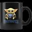 New-England-PATRIOTS-Baby-Yoda-Star-Wars-Cute-Yoda-PATRIOTS-Fun-Yoda-Coffee-Mug miniature 1