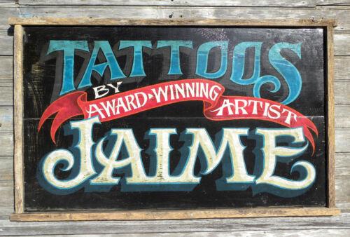 Tattoo Parlor  Print  ink art flash art decor print  vintage  look studio