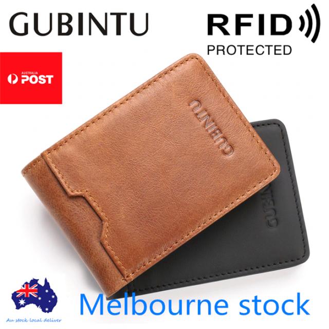 Men/'s Wallet High Quality Genuine Soft Leather Bifold Credit Card Holder Purse
