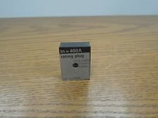 Merlin Gerin 36206 400A Rating Plug for CJ 400A Frame Breaker Used E-Ok