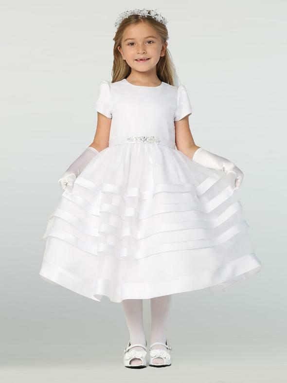 First Communion dress SP708 Lito flower girl dress size 8 NWT