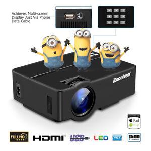 Smart-TV-DTV-T2-Proiettore-Videoproiettore-Full-HD-1080P-Home-Cinema-HDMI-SD-USB