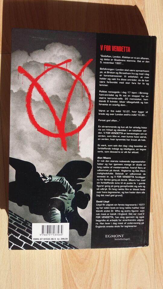 V for Vendetta , Alan Moore, Tegneserie