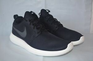 07cfb08dd69a Nike Roshe Two Black Anthracite Sail Volt running training 844656 ...