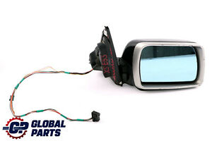 BMW-X5-Series-1-E53-Sports-Package-Memory-Right-Wing-Mirror-O-S-Black-Sapphire