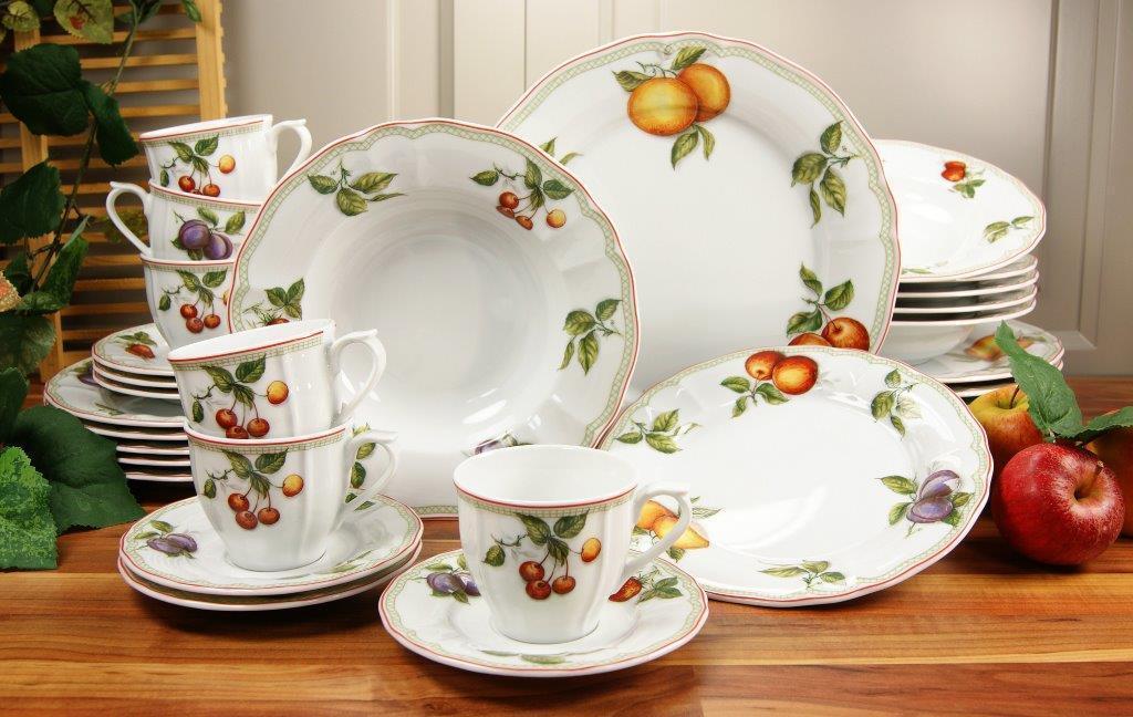 Flora Orchard combinata servizio stoviglie 30tl 6 persone porcellana Creatable 17032 GB