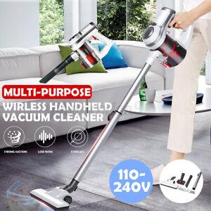 2 In 1 Wireless Cordless Handheld Home Vacuum Cleaner Carpet Car Dus