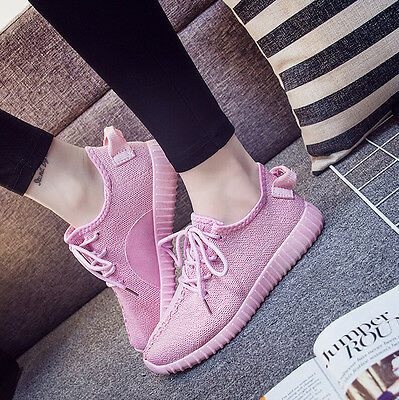 Fashion Women's Smart Casual Korean Shoes Breathable soft soled Running Shoes