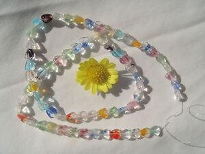 6mm-Art-Glass-Glow-In-The-Dark-Heart-Beads-15-034-strand