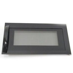 New Factory Original LG Microwave Black Door ADC49436905 LMV1680BB MV1648AD
