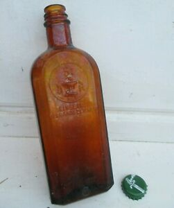 7,5 cm braun 5 x alte braune Medizin Glas Apotheke Apotheker Flasche 20 ml ca