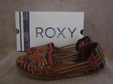 ROXY Womens Meri Multi Color Textile  Flats Slip On Shoes US 8 M EUR 38  NWB