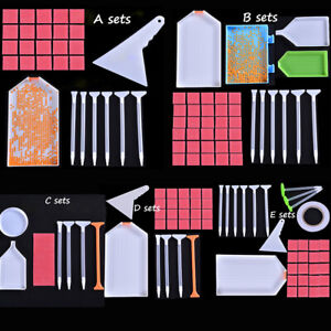 Tray Cross Stitch 5D Diamond Painting Kits Embroidery Corrector Point Drill Pen
