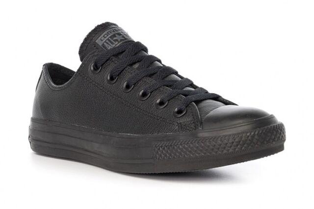 Estimar Cañón Frente  Black Converse UK Size 6 Mens 8 Womans for sale online | eBay