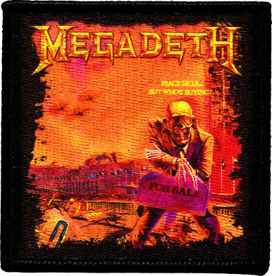 39183 Megadeth Heavy Metal Rock Music Band Skeleton Album Cover Iron On Patch