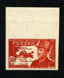 FRANCE-FEZZAN-Yv-53-Imperforate-MNH-sheet-border