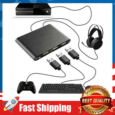 Durable Keyboard And Mouse Adapter For Ps4 Xbox One Ps3 Nintendo Switch Ebay