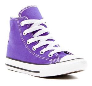 dfd0593f0c64 Kids Converse Shoes Hi Top Periwinkle Purple Chuck Taylor Canvas ...