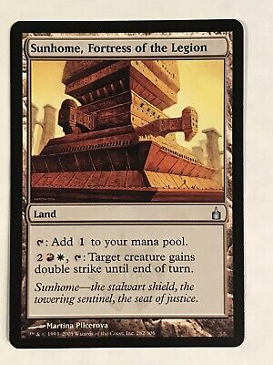 Sunhome Fortress of the Legion Ravnica City of Guilds NM CARD ABUGames