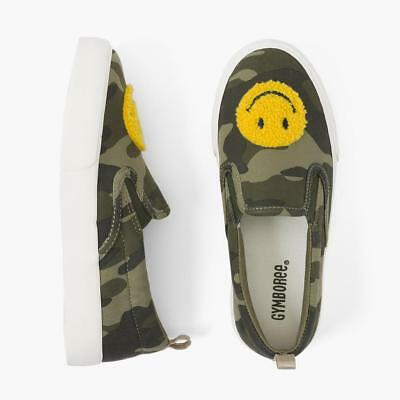 NWT Gymboree Camo Smile Sneakers shoes girls Many Sizes
