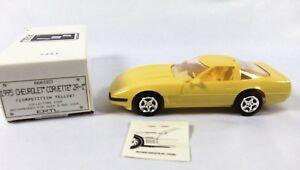AMT-Ertl-1991-Chevrolet-Corvette-ZR-1-Competition-Yellow-Dealer-Promotional-Car