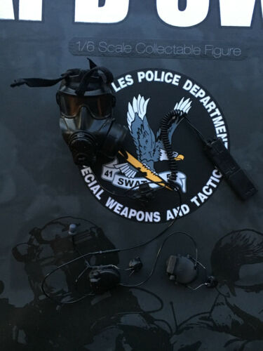 Dragon in Dreams DID LAPD SWAT FM53 Mask /& VPU Loose 1//6th scale