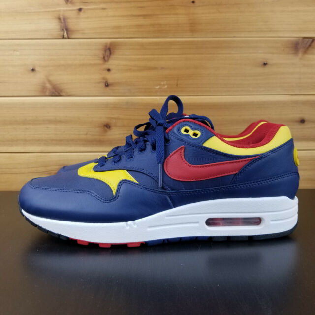 NIKE AIR MAX 1 PREMIUM NAVY SNOW BEACH LIMITED EDITION POLO 875844 403