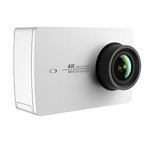 YI 4K Action and Sports Camera, 4K/30fps Video 12MP Raw Image with EIS (WHITE)