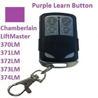 Chamberlain Garage Door Opener Remote Control 370lm 371lm 372lm 373lm 374lm