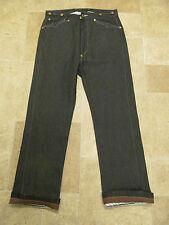 Levis VTG LVC 1919 USA Raw Rigid Spring Bottom Black Selvege Pantaloons Jean W28