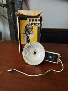 Ancien flash appareil photo vintage FEX avec boite bon état