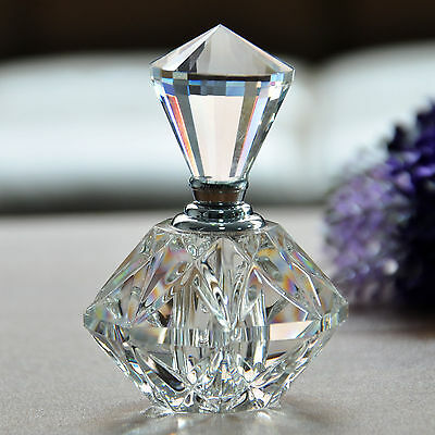 Vintage Crystal Perfume Bottle Art Home Decor Ladies Wedding Favor Gifts New