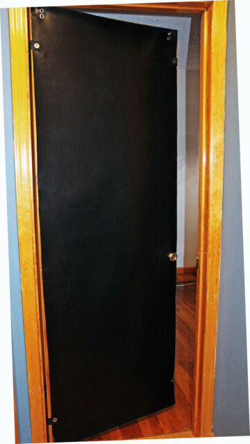Door Soundproofing and Noise Control - Out Performs Acoustic Blankets