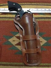 "Uberti Cattleman Horseman Ruger Blackhawk & Vaquero 7.5"" Western Leather Holster"