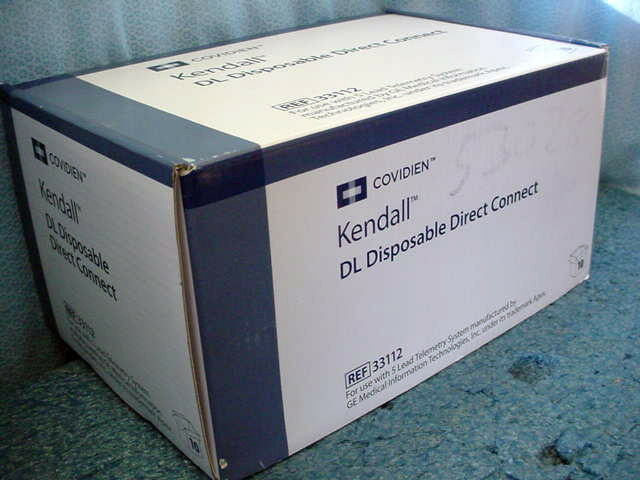 Covidien Kendall DL Disposable Lead System for Ge Telemetry # 33112