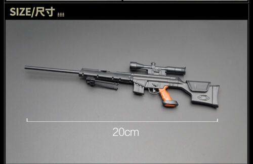 """PSG-1 MODO Sniper Rifle Weapon Gun For 1//6 Scale12/"""" Action Figure 1:6 Model Toy"""