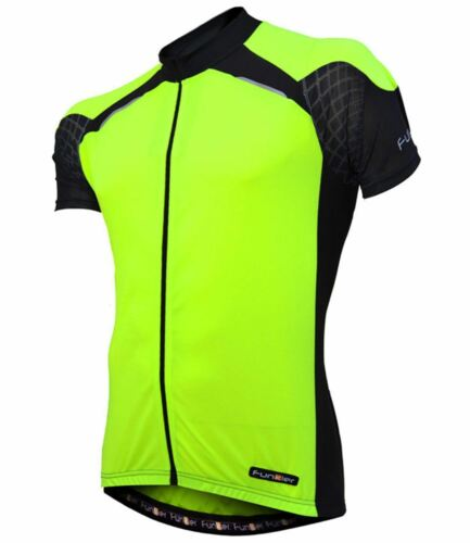 REF   Mens  Size FUNKIER Gents SS Jersey J730-1 Color Yellow M  RRP $69  New