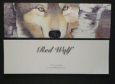 Wolf Bookmark Wildlife Nature Eyes Book Marker