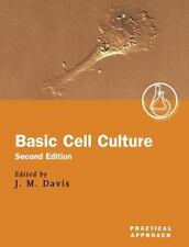Practical Approach: Basic Cell Culture 254 (2002, UK-Paperback, Revised)