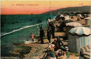 CPA-Deauville-La-Plage-fleurie-515641
