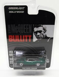 Greenlight-1-64-Scale-Model-Car-44741-1968-Dodge-Charger-Bullit-Chase-Car